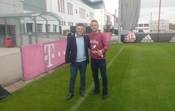 Aprendizado: Pachequinho, do Coxa, visita Bayern, Inter de Milão e Roma