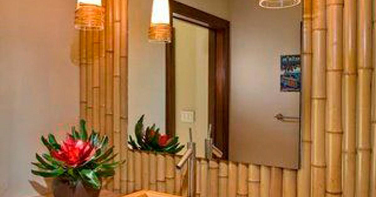 G1 aprenda a incluir o bambu na decora o not cias em for Bambu decoracion interior