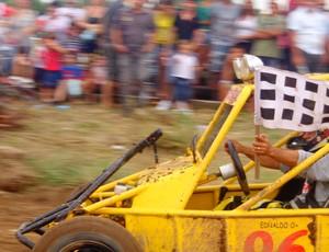 Ednaldo Martins foi o campeão no gaiola cross, em Paraíso do Tocantins (Foto: Vilma Nascimento/GLOBOESPORTE.COM)
