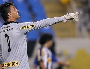 Milton Raphael, Botafogo x Cruzeiro (Foto: Satiro Sodré / Agif)