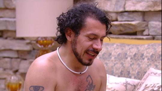 Rômulo sobre os brothers: 'Todo mundo emagreceu menos eu, Manoel e Vivian'