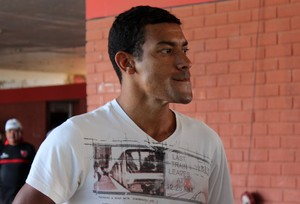 Jarbas, meia do Flamengo-PI na Copa Piauí (Foto: Emanuele Madeira/GLOBOESPORTE.COM)