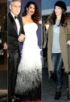 Grávida e elegante: veja os looks de Amal Alamuddin, mulher de Clooney