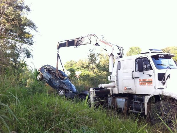 acidente; lajeado; vale do taquari; rio grande do sul; ERS-130 (Foto: Bruna Ostermann /RBS TV)