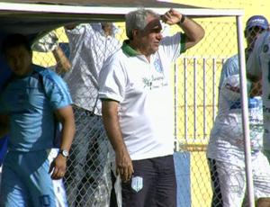 Marcos Birigui treinador do Cacerense (Foto: Reprodução/TVCA)