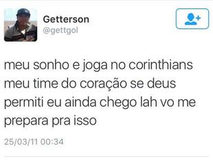 getterson são paulo twitter (Foto: Reprodução/Twitter)