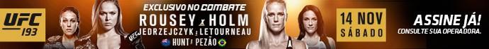 banner matéria UFC 193 Combate (Foto: Combate)
