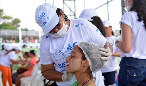 Serviços de beleza foram uns dos mais procurados pelas mulheres (Foto: Divulgação/Veruska Oliveira)