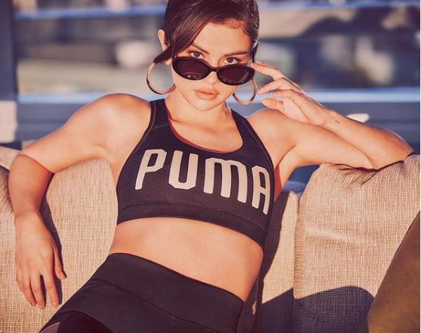 Selena Gomez para a Puma (Foto: Reprodução/Instagram)