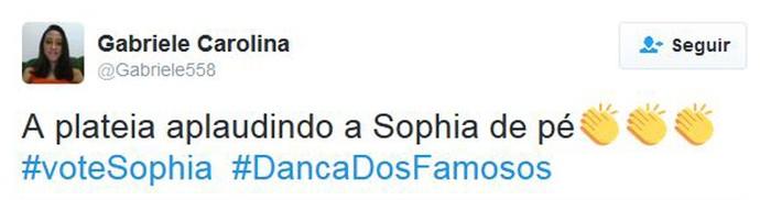 Sophia (Foto: Reprodução)