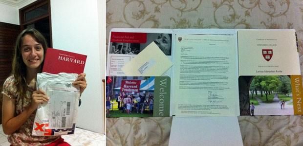 Larissa Maranhão pretende estudar economia em Harvard (Foto: Arquivo pessoal)