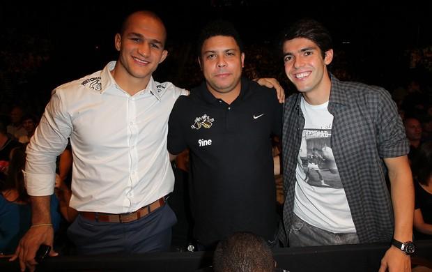 UFC 148 Junior cigano; Ronaldo; Kaka (Foto: Agência Getty Images)