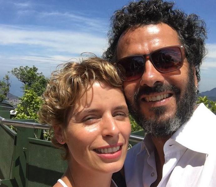 Marcos Palmeira é casado com a diretora Gabriela Gastal (Foto: Arquivo Pessoal)