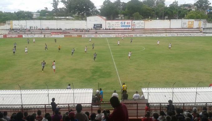 Tricordiano vence o Araxá por 2 a 0 em Três Corações (Foto: Marcelo de Castro / EPTV)