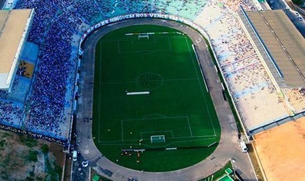 Estádio Pituaçu recebe as equipes no jogo de quarta (Foto: Divulgação/agecom)