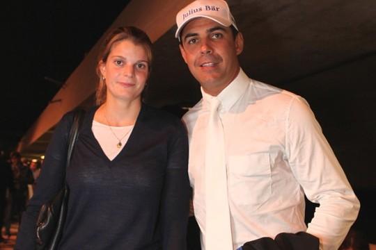 Doda Miranda e Athina Onassis - casal esteve na Hípica paulista nesse fim de semana (Foto: Jane Monteiro)