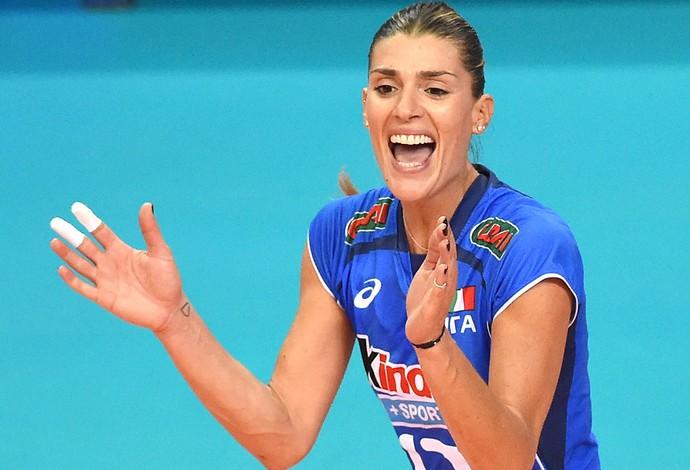Francesca Piccinini, Itália - Mundial de Vôlei (Foto: Getty Images)