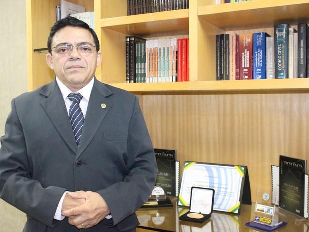 Ex -agricultor hoje é presidente do Tribunal Regional do Trabalho no Piauí  (Foto: Gilcilene Araújo/G1)