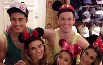 Férias dos campeões: Diego, Flavinha, Jade, Dani e Nory brilham na Disney