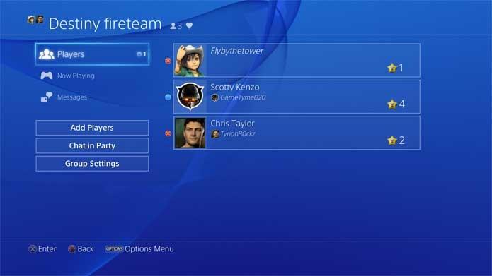 PS4 ganha suporte a comunidades (Foto: Divulgação/Sony)