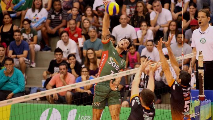 Campinas x Canoas Superliga masculina (Foto: Divulgação / Brasil Kirin Vôlei)