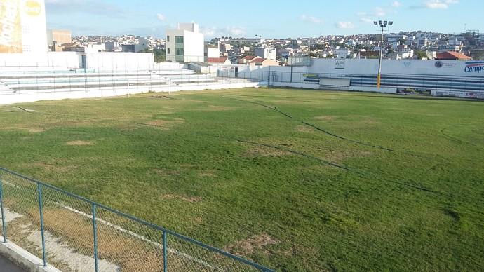 Estádio Antônio Inácio - 2 (Foto: Kleber Estrela)