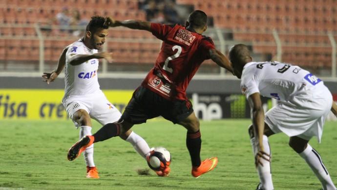 Sem criatividade, Santos empata com Ituano e chega ao 3º jogo sem vencer