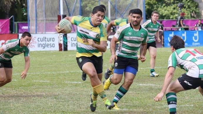 André Arruda começou no Cuiabá Rugby (Foto: Arquivo pessoal)