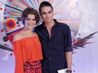 #Globo50! João Vitti entrevista casal de Malhação Rafa Vitti e Bella Santoni