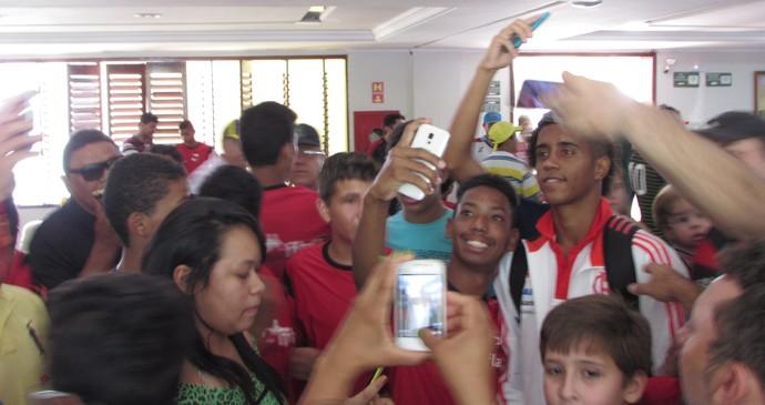 Gabriel, hotel Flamengo Juazeiro do Norte (Foto: Juscelino Filho)