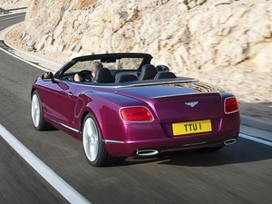 Bentley Continental GT Speed Convertible (Foto: Divulgação)