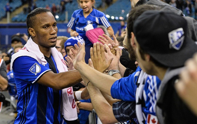 Drogba Montreal Impact (Foto: Getty Images)