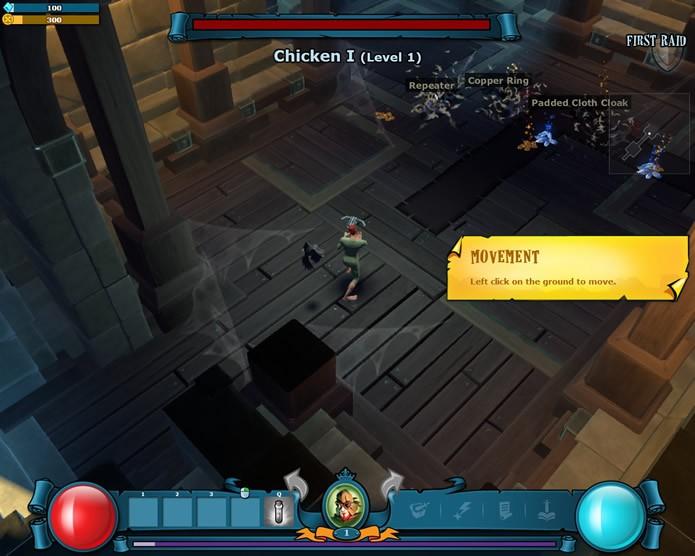 O herói do jogador evoluirá constantemente ao longo das batalhas (Foto: Reprodução/Daniel Ribeiro)