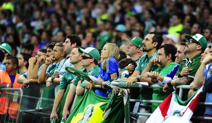 Torcida do Palmeiras (Foto: Marcos Ribolli)