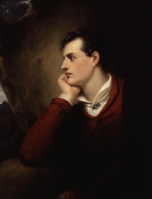 Lord Byron, inspiração para o poetas ultrarromânticos