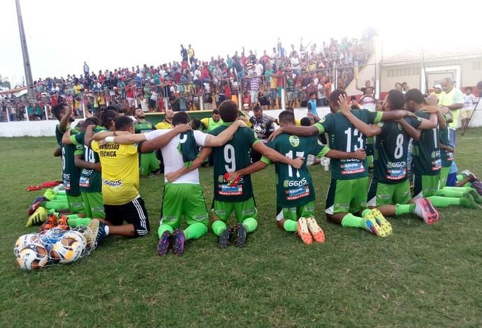 Cordino venceu o Sâo José e chegou à final do primeiro turno do Maranhense (Foto: Leonilson Mota / Divulgação)