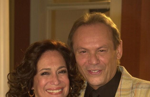 Em 'Senhora do destino', Giovanni Improtta (José Wilker) vivia uma história de amor com  Maria do Carmo (Susana Vieira)  (FOTO: TV Globo)