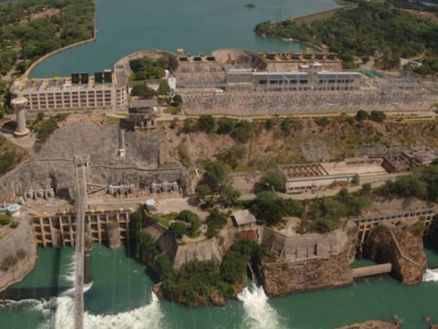 Instalada em 1949, só Complexo Hidrelétrico de Paulo Afonso tem cinco hidrelétricas (Foto: Chesf/Divulgação)