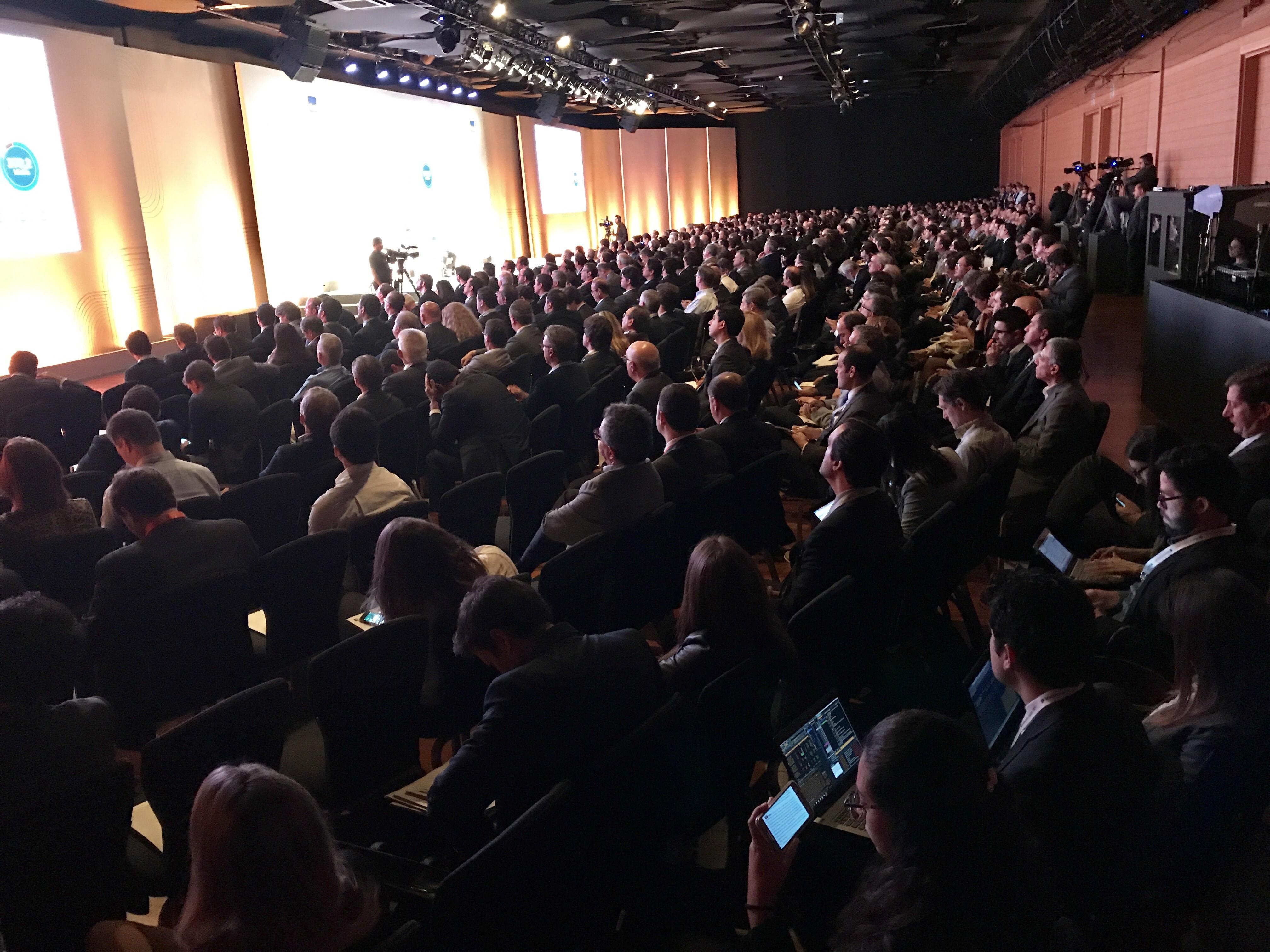 Evento com executivos em São Paulo