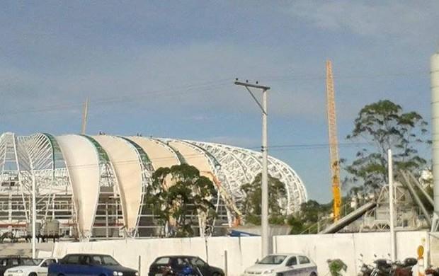Membrana Beira-Rio Inter (Foto: Odécio Adam/Divulgação Grupo Gigante Para Sempre)