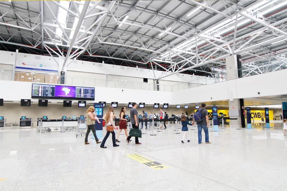Aeroporto Afonso Pena Curitiba : Aeroporto internacional afonso pena é considerado o melhor