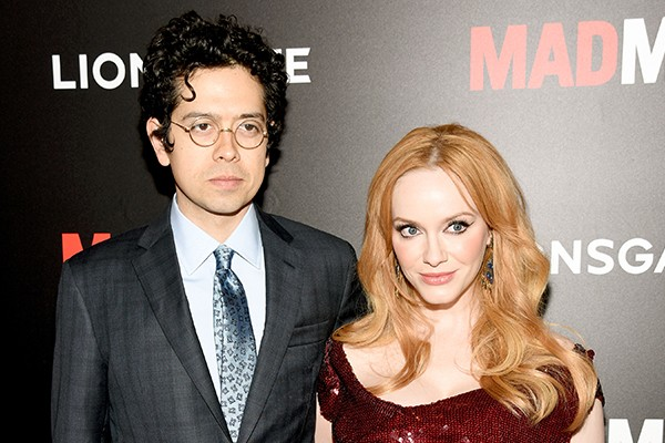 Geoffrey Arend e Christina Hendricks (Foto: Getty Images)