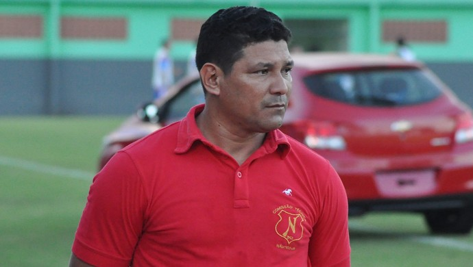 Técnico Serginho Gois, do Náutico-RR (Foto: Manoel Façanha)
