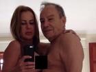 'Me senti estuprada', diz mulher de Stênio Garcia sobre fotos vazadas