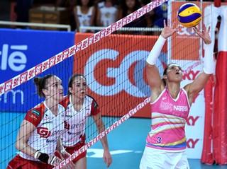 Vôlei Bauru x Osasco, Dani Lins, Superliga feminina (Foto: João Pires / Fotojump)
