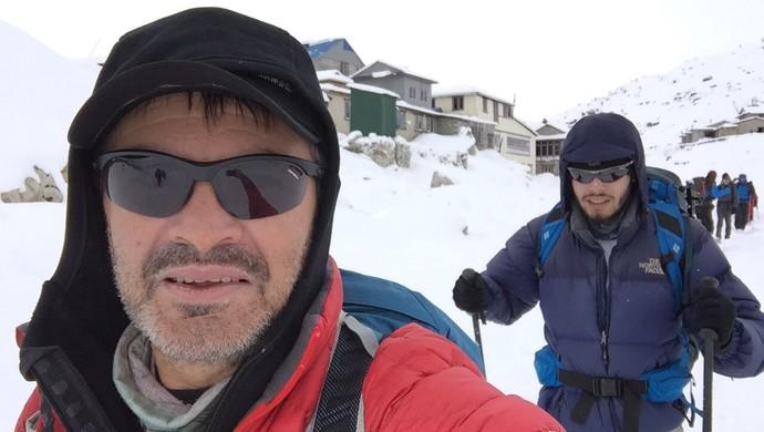 Rosier Alexandre, Monte Everest (Foto: Rosier Alexandre/Arquivo Pessoal)