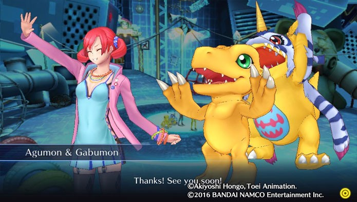Digimon Story: Cyber Sleuth (Foto: Reprodução/Tais Carvalho)