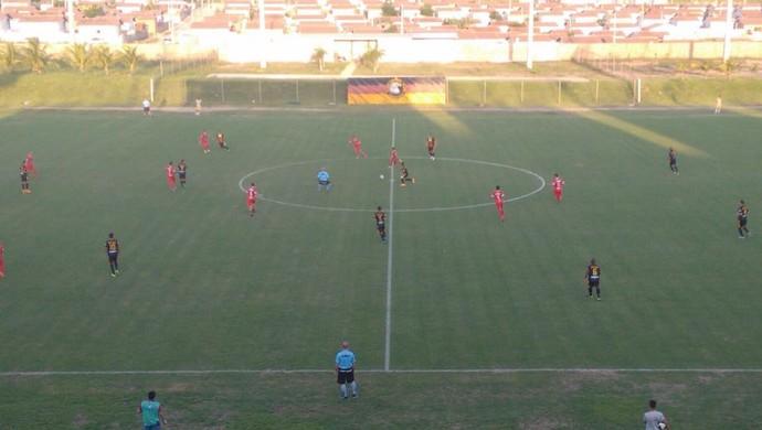 Globo FC x Potiguar de Mossoró - Estádio Barretão (Foto: Artur Rebouças)