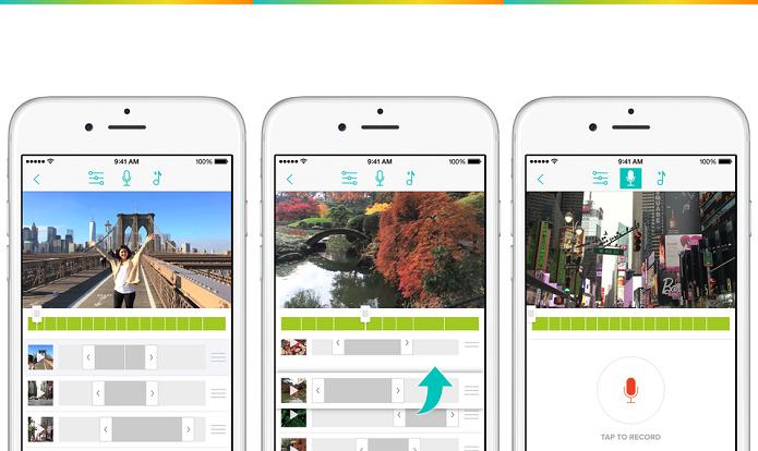 Edição simplificada é com o Clips Video Editor (Foto: Divulgação/AppleStore)