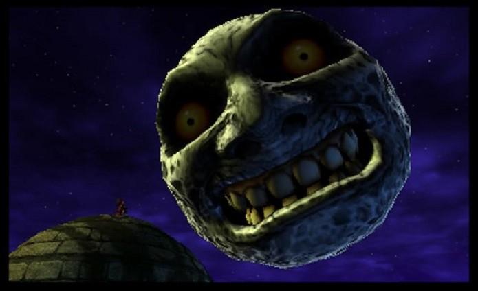 A lua está ainda mais assustadora (Foto: Reprodução)